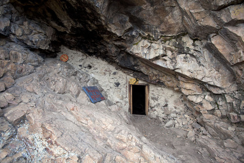 Picture of Tövkhön Khiid (Mongolia): One of the meditation caves at Tövkhön Khiid