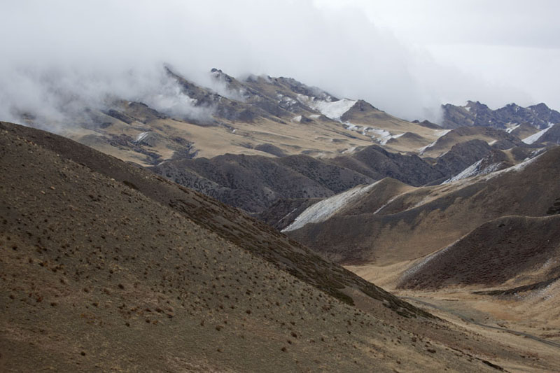 Picture of View from mountain pass close to Yolyn Am canyonYolyn Am - Mongolia