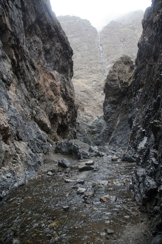Stream trickling through Yolyn Am gorge | Yolyn Am | Mongolia