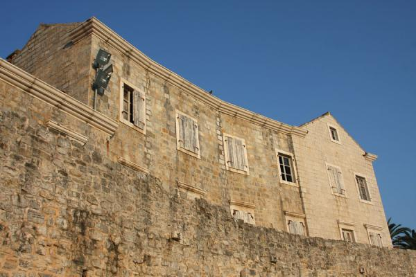 Wall and building of Budva | Budva Old Town | Montenegro