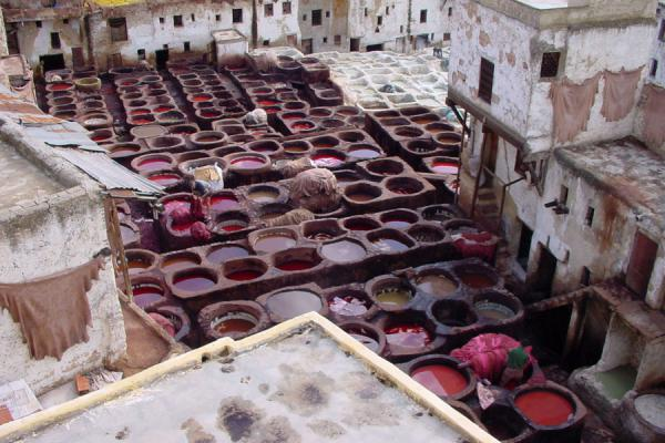 Picture of Overview of the Fes tanneriesFes - Morocco