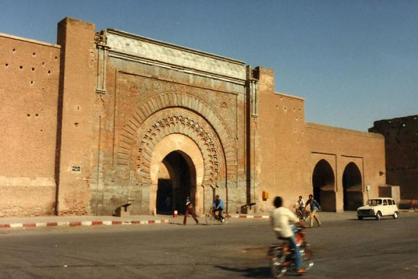 Passing one of the main gates of Marrakesh | Marrakesh | Morocco