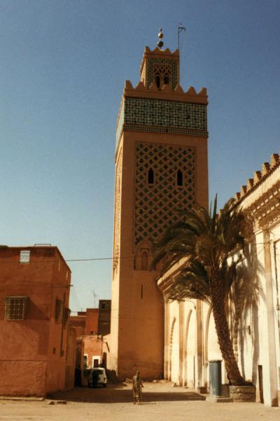 Picture of Minaret of Koutoubia mosque in Marrakesh