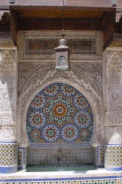 Foto de Fountain in the Neffarine squareFès - Marruecos