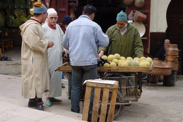 Picture of Street vendor in the souqFes - Morocco