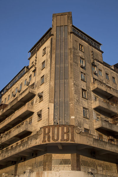 Picture of The Prédio Rubi building in Maputo once was the tallest building in town