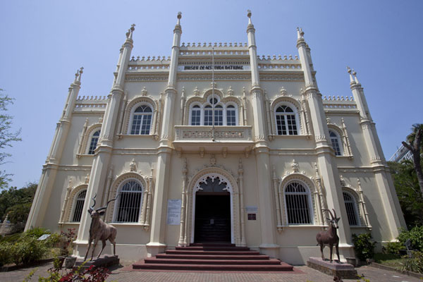 The Museum of Natural History is housed in this colonial building | Maputo colonial | Mozambique