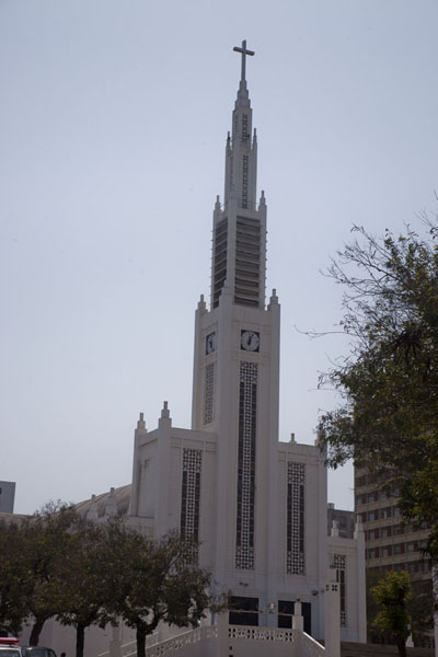 Picture of Colonial Maputo (Mozambique): The slender Cathedral of Maputo