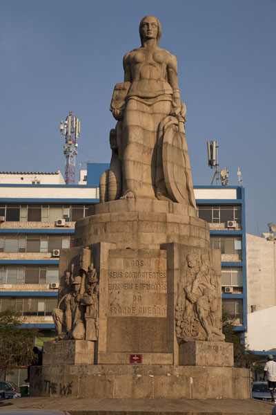 Picture of Colonial Maputo (Mozambique): Monument to the Great War, on the square in front of the railway station