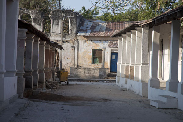 Picture of View of one of the streets of IboIbo - Mozambique