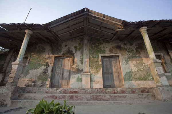 Picture of Looking up one of the many old houses of Ibo in the late afternoonIbo - Mozambique