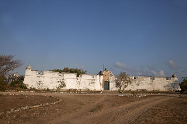 Morning view of the facade of the largest fortress of Ibo, the Fortaleza de São João Baptista | Ibo | Mozambique