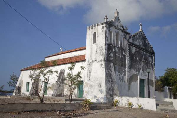 The Igreja de Nossa Senhora do Rosário stands on the southern side of the main square of Ibo | Ibo | Mozambique