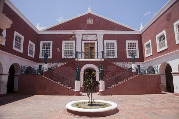 Picture of Ilha de Moçambique (Mozambique): Courtyard of the Palace Museum of Ilha de Moçambique