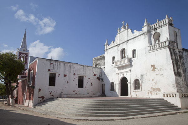 Picture of Ilha de Moçambique (Mozambique): Afternoon sunlight falling on the Misericordia church on Ilha de Moçambique