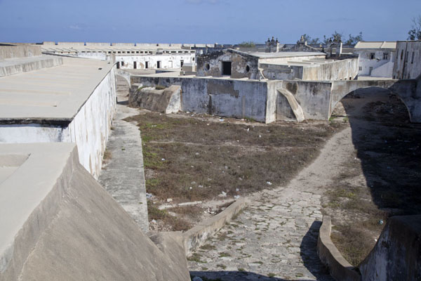 Picture of Ilha de Moçambique (Mozambique): The inner part of the Fortaleza de São Sebastião seen from the rampart