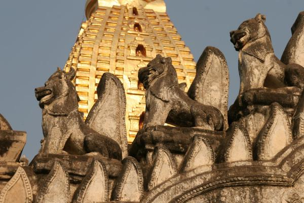 Foto de Close-up of Ananda PahtoMyanmar (Birmania) - Myanmar (Birmania)