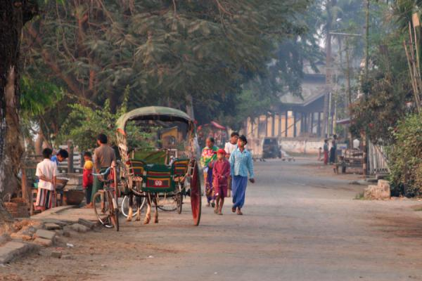 Typical streetscene in Katha | Katha | Myanmar (Burma)