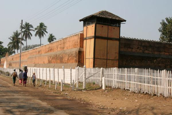 Katha Jail, still in use as such, and appearing in Burmese Days | Katha | Myanmar (Burma)