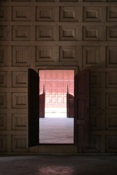 Picture of Royal Palace of Mandalay: looking out of one of the many rooms