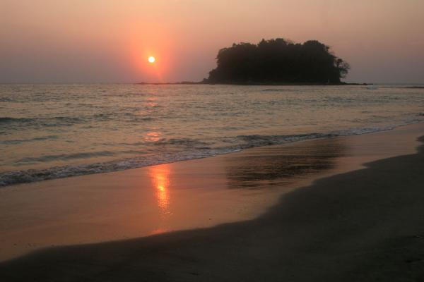 Sun setting on Ngwe Saung Beach | Ngwe Saung Beach | Myanmar (Burma)