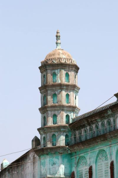 Picture of Pathein (Myanmar (Burma)): Old tower in the streets of Pathein