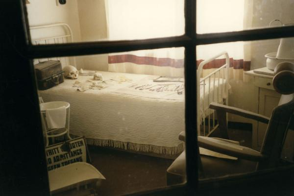 Picture of One of the rooms with medical items on displayKolmanskop - Namibia