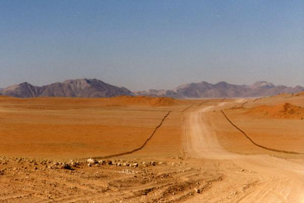 Behind each and every corner, more emptiness appears. | Namibian roads | Namibia