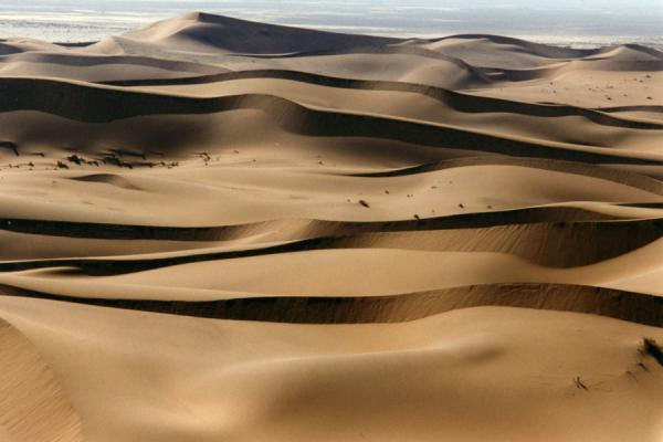 Picture of Ever changing landscapes everywhereSesriem sanddunes - Namibia