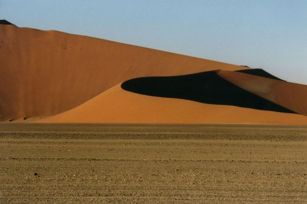 Picture of Curvatures of a sand duneSesriem sanddunes - Namibia