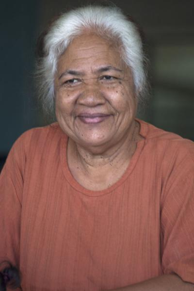 Photo de Nauruan woman on a Saturday morningGens du Nauru - Nauru