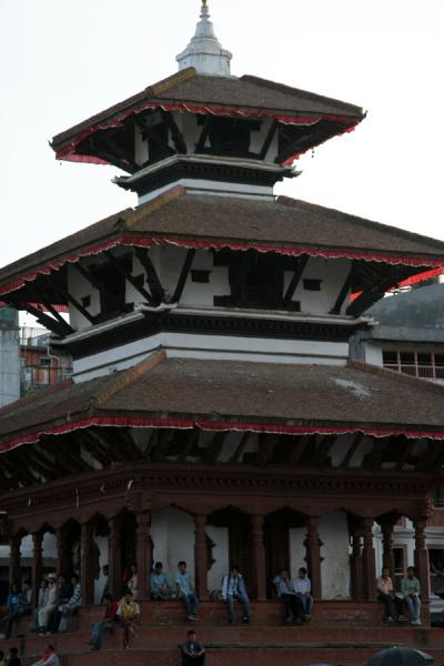 Picture of Temple on Makhan Tole at the Durbar Square area