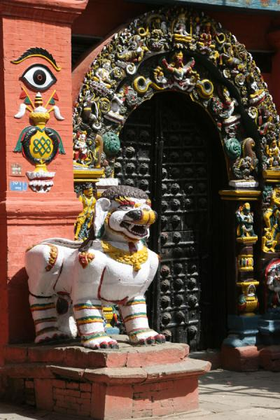 Lion Gate of Taleju Temple | Durbar Square | Nepal