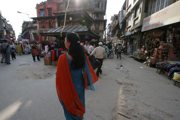Picture of Kathmandu streets