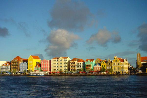 Picture of Curacao: waterfront of Punda