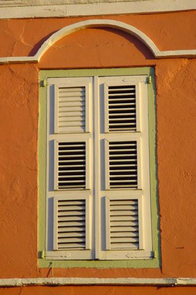 Picture of Detail of old Dutch house in Punda - Curacao