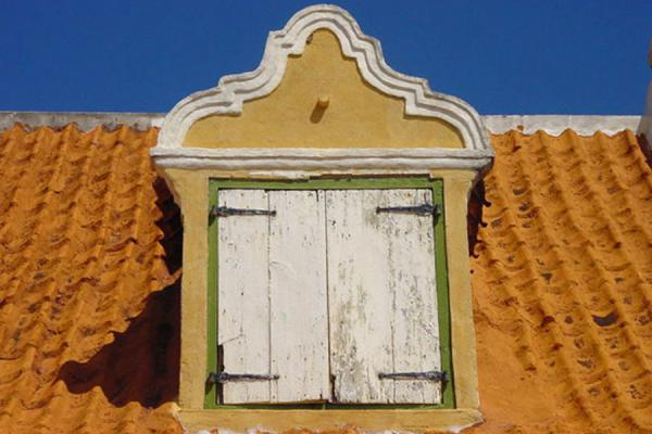Dormer in a house in Curacao | Curacao windows | Netherlands Antilles