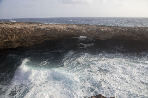 Photo de The natural bridgeShete Boka - Antilles Néerlandaises
