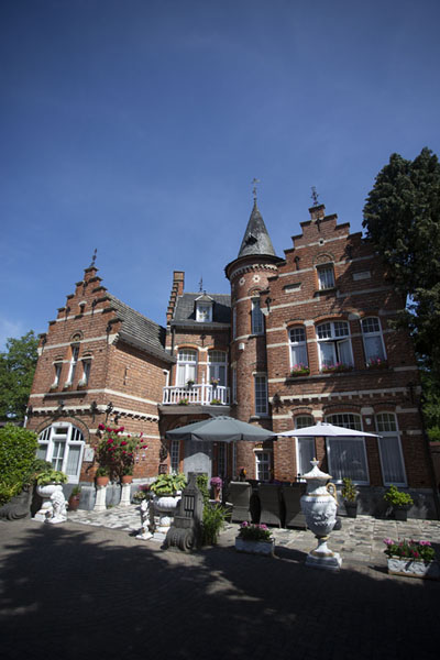 Picture of Castle-like building opposite the Cultural Centre of Baarle-HertogBaarle - Netherlands