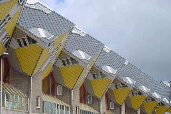 Picture of Cubic houses, Rotterdam