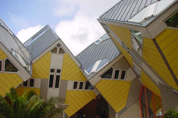 Cluster of cubes | Cube Houses | Netherlands