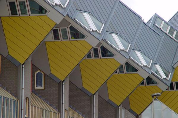 Picture of Cube Houses (Netherlands): Cubic houses, Rotterdam