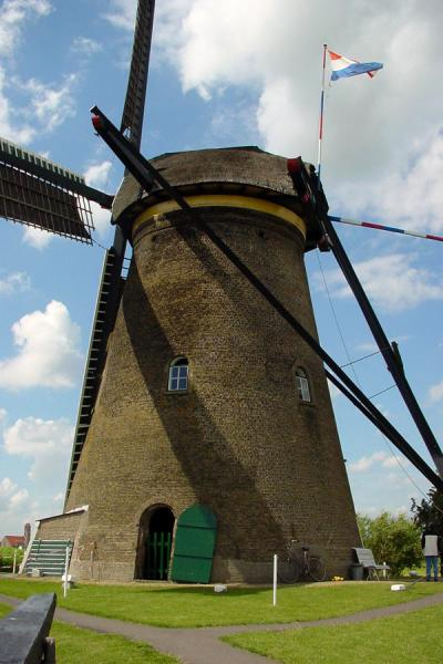 One of the windmills of Kinderdijk can be visited and inspected up close | Kinderdijk | Netherlands