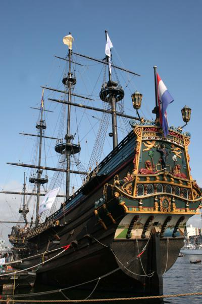 The Prins Willem, copy of an old East Indies Company ship | Sail Amsterdam | Netherlands