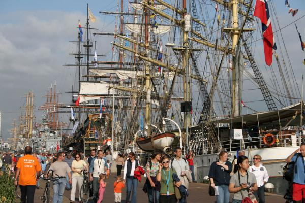 Walking the quays to see all the ships at Sail Amsterdam | Sail Amsterdam | Netherlands