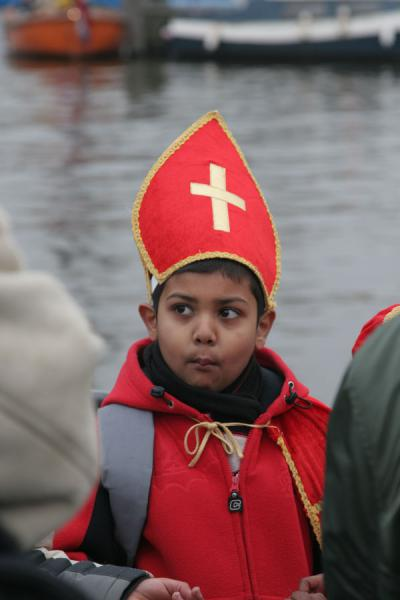 Picture of Sinterklaas as a multicultural event
