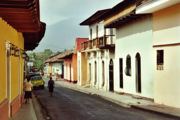 Photo de A quiet streetGranade - le Nicaragua
