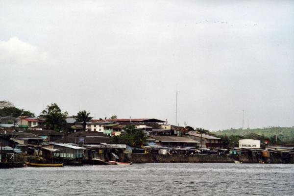Picture of Harbour of San Carlos from where Solentiname can be reachedSolentiname - Nicaragua