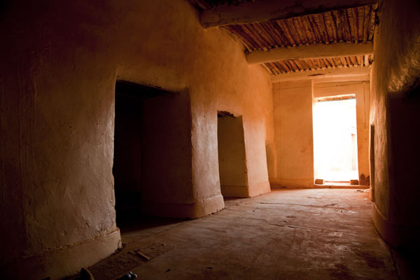 Picture of Agadez Big Mosque (Niger): Inside the big mosque of Agadez