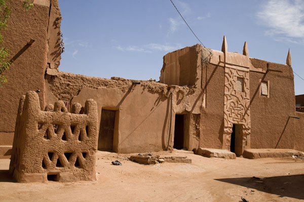 One of the remarkable buildings in the old town of Agadez | Agadez Old Town | Niger